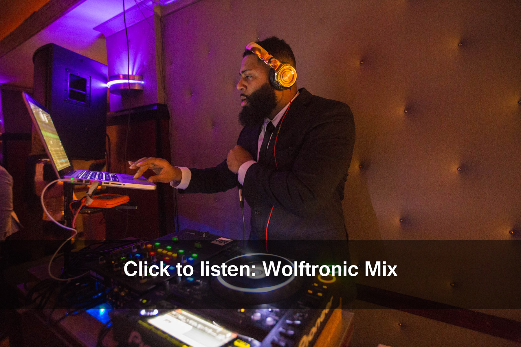 Wolftronic banner
